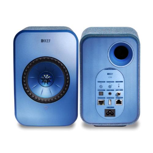 KEF LSX Wireless Music System BLUE