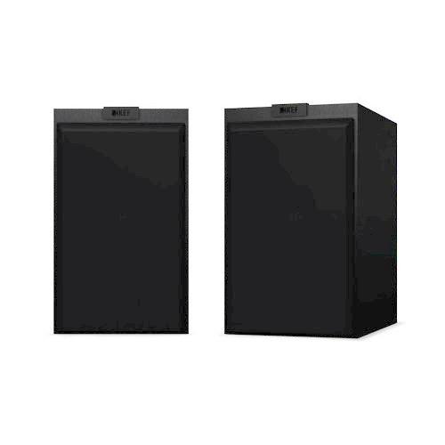 KEF Q Series 2 Way Bass Reflex Bookshelf Speaker- Per pair-BK