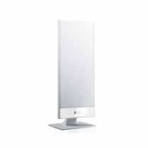 KEF 2way Closed Box Satellite Speaker Wall or Stand Mount - WH