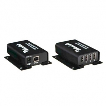 Muxlab USB 2.0 Balun Extender Kit [4 port]