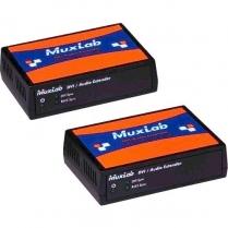 Muxlab DVI/Audio Extender Kit [1 x Cat6 70m]