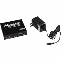 Muxlab HDMI to HDMI w/ Audio Extraction, UHD-4K
