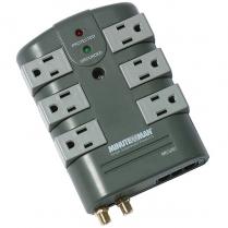 Minuteman Slimline Surge Suppressor 2160 Joule Rating 6 Outlet