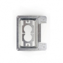 Caddy Metal Low Voltage Single Gang Mounting Plate