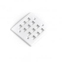 Provo 12 Hole Wall Plate Keystone Jack