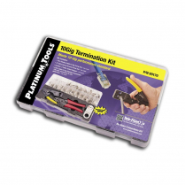 Platinum Tools 10Gig Termination Kit CAT6A/7 CAT5E/6 - Industrial Grade
