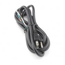 Provo Power Supply Cord 18-3c SVT [9ft] - BK