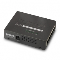 PLANET 4 Port IEEE 802.3 High Power Over Ethernet Injector Hub