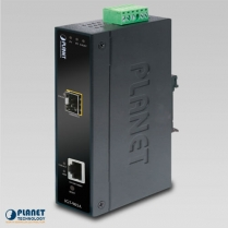 PLANET IP30 Indust.SNMP Mngble10/100/ 1000base-T -miniGBIC converter