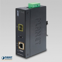 PLANET IP30 Indus.10/100/1000base-T Gigabit SFP Converter with POE