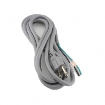 Provo Power Supply Cord 16-3c SJT 9' - GY