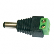 Provision-ISR DC Jack Male 5.5mm Outer 2.1mm