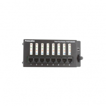 Provocative 8 Port Data Patch Panel T568A Exceeds Cat5E Standards