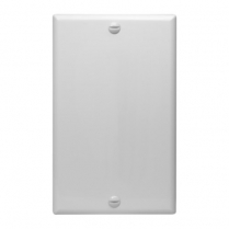 SynConnect All Purpose Blank Wall Plate - WH