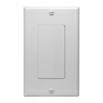 SynConnect Decora Style Wall Plate Blank Insert w/No Knockout 2pcs - WH