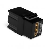 SynConnect Keystone Snap-In Module w/ HDMI F-F Black