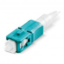 Senko XPFIT Plus SC Conn MM 50/125 10G OM3 - 12pcs pkg - Aqua