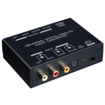 SyncSound Digital Audio to Stereo Audio Converter