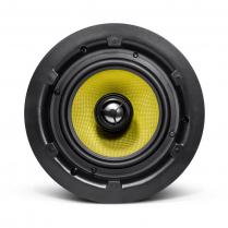 "SyncSound 6 1/2"" In-Ceiling Speakers 8 ohm 100Watt RMS Kevlar- Pair"