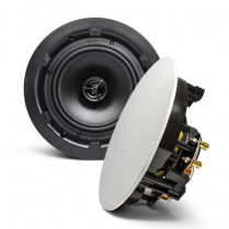 "SyncSound 6 1/2"" In-Ceiling Speakers -8 ohm 70Watt - Pair"