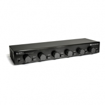 SyncSound 6 Zone Speaker Selector with Volume Controls - Dual Source