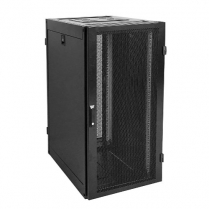 SyncSystem Complete 24u Server Cabinet w/ Mesh Doors