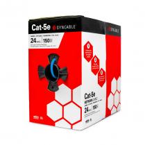 SynCable Cat-5E 350Mhz 24-4pr ETL Verified c(UL) UL CMR FT4 - BL