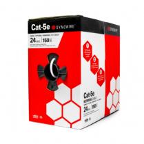 SynCable Cat-5E 350Mhz 24-4pr ETL Verified c(UL) UL CMR FT4 - WH