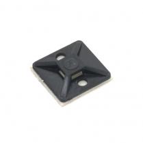 Provo Self-Adhesive Tie Mount Black