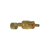 Provo RCA Plug Crimp Type w/Ring [Gold Plated]