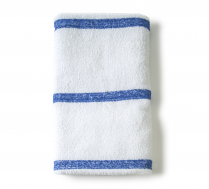 Three Blue Stripe Pool Towel