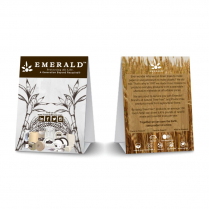Emerald Sustainable Tent Cards