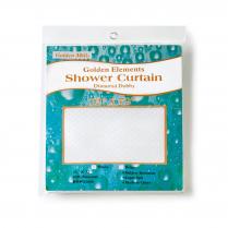 Golden Element Diamond Dobby Shower Curtains