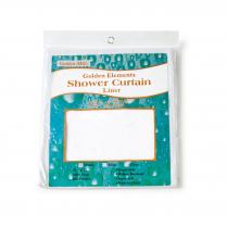 Golden Element Vinyl Liner Shower Curtains