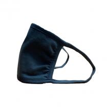Reusable Face Mask, Black, 3 Layer (4PCS/BX) - (300PCS/CS)