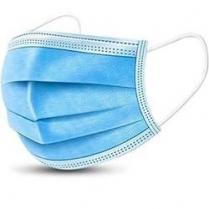 Non-Woven 3 Layer Disposable Face Mask Blue