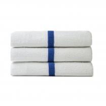 Premium Terry Blue Stripe Towels