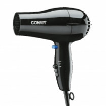 Black Conair 1600 Watt Dryer