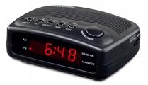 Conair - Compact Clock Radio W/Single Day Alarm