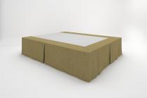 Stucco Bedskirts - Bronze