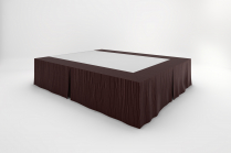 Stream Bedskirts - Earth Brown