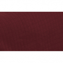 Golden Square Bolster Pillow Sham Claret