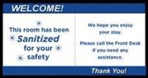"DISGEN663-SAN-DSS 6""W X 3""H Door Safety Seal (250/PK)"