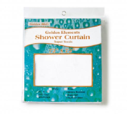 Golden Element Super Suede Shower Curtains