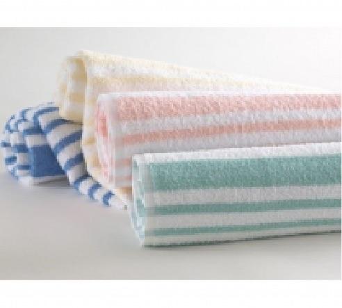 Tropical Stripe Pool Towels
