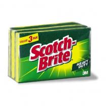 Sponge Scotch Brite Scruber 3/Pk