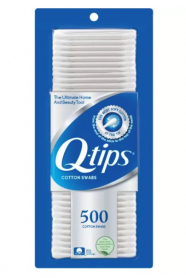 Q-Tips Cotton Swabs Johnson & Johnson 500 Ct.
