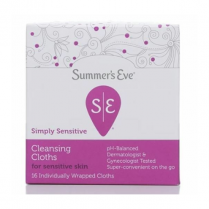 Towelettes Summers Eve Feminine Cleansing Sensitive Skin