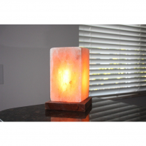 Saltability Crafted Salt Lamps-Cube (Approx. 8.5 Lbs)