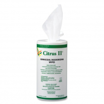 Citrus Ii Germicidal Wipes 125/Tub